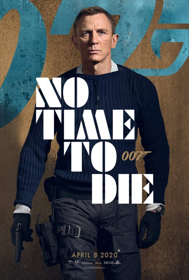 Daniel Craig No Time To Die Character Poster