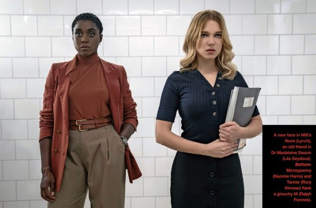 Lashana Lynch and Lea Seydoux in No Time To Die