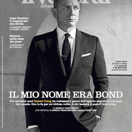 Daniel Craig Il Venerdi Cover