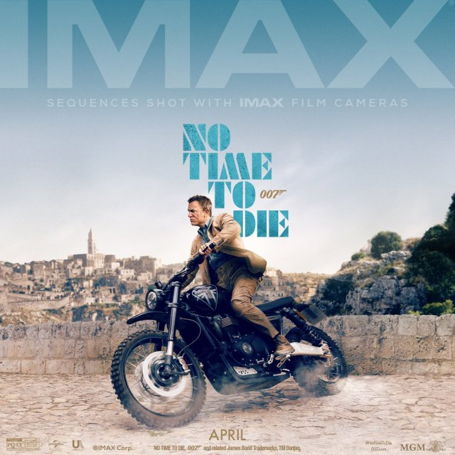 No Time To Die IMAX Poster