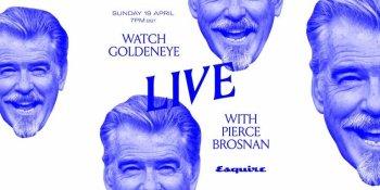 GoldenEye Live with Pierce Brosnan