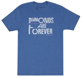 Out of Print Diamonds Are Forever Shirt