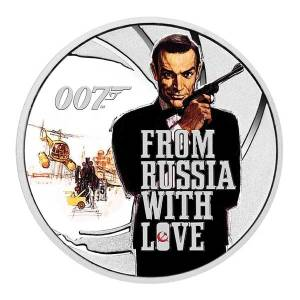 From Russia with Love Coin by the Perth Mint