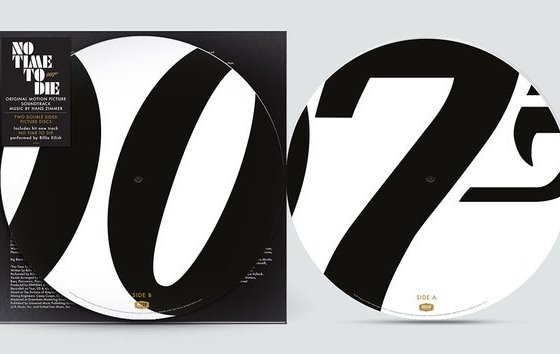 No Time To Die Sound of Vinyl Picture Disc