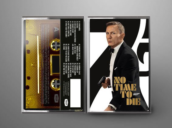 No Time To Die Soundtrack Gold Cassette