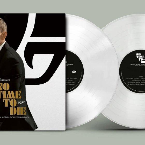 No Time To Die White Vinyl