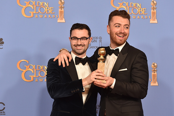Jimmy Napes e Sam Smith © Getty Images