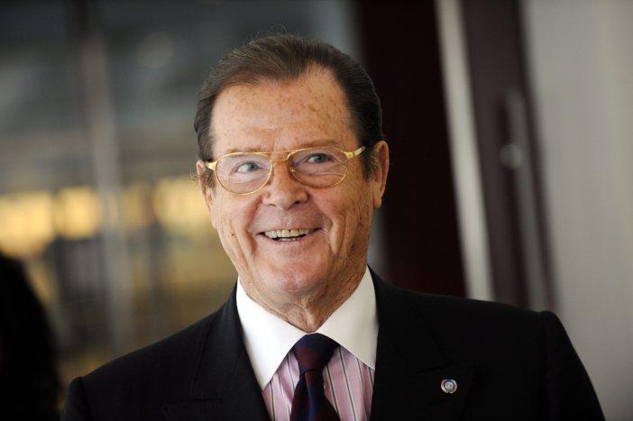 Sir Roger Moore © LEHTIKUVA / Mikko Stig
