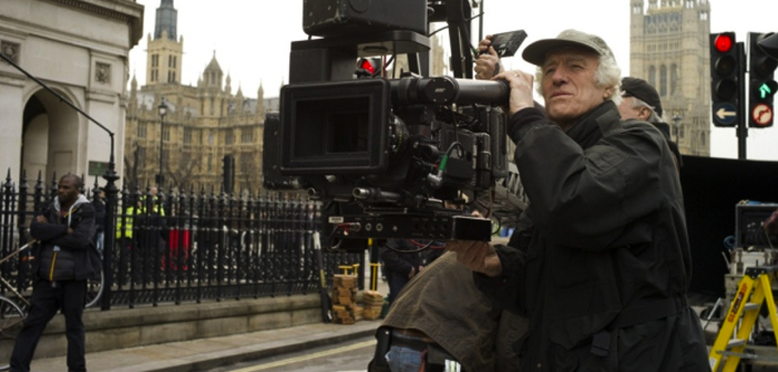 Roger Deakins recebe homenagem da Coroa Britânica