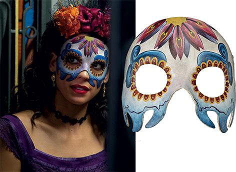 estrella mask spectre mexico