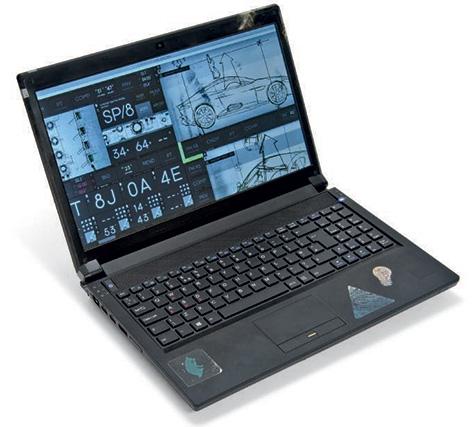 laptop q auction spectre ben whishaw