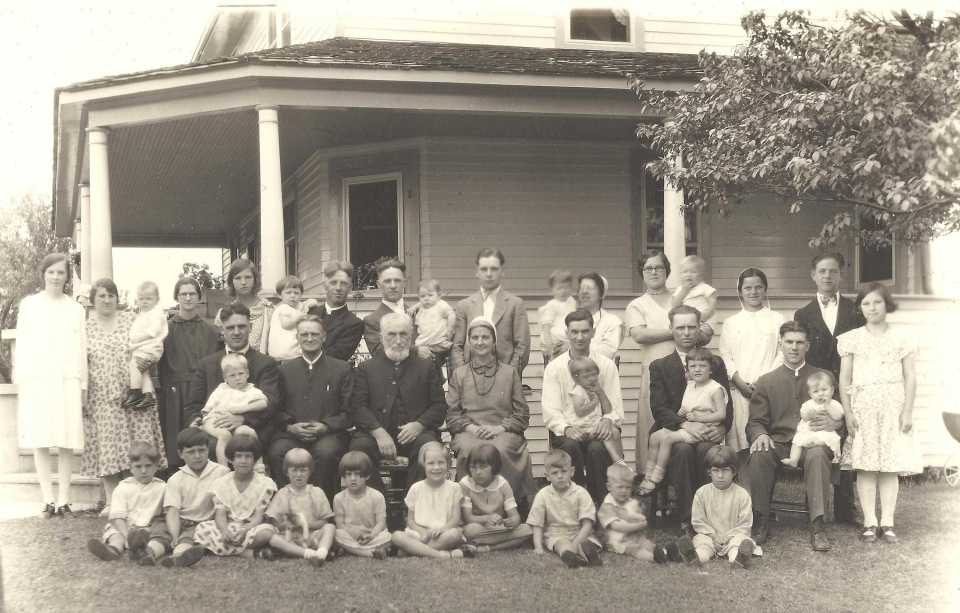 Climenhaga family reunion 1932
