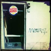 Burger King e Graffiti a Roma (Rephotographed) 7