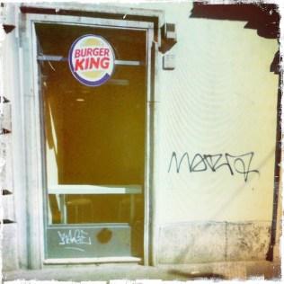 Burger King e Graffiti a Roma (Rephotographed) 9