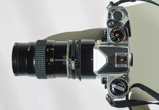 Micro Nikkor 55mm, PK-13, Nikon FE