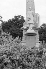 Jefferson Davis, Dallas Civil War Monument, 2017
