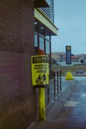 watch for pedestrians