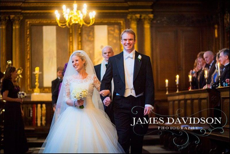 Christs College wedding photographer