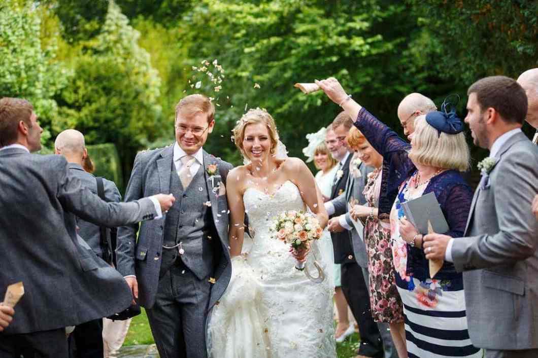 Hengrave wedding photographs