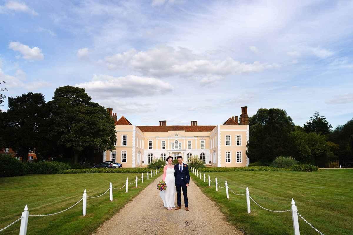Hintlesham Hall elopement photos