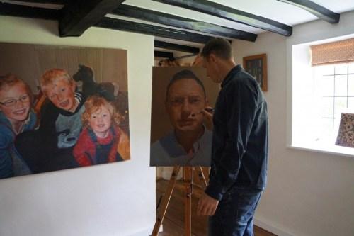 James Earley Portrait Artist