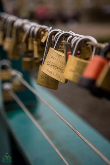 Bakewell Love Locks - Peak District Photography