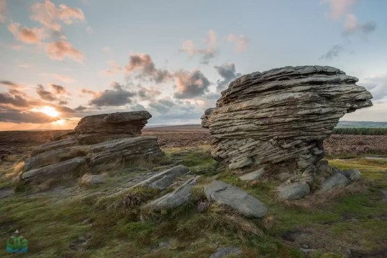 Ox Stones Sunset - Peak District Photography