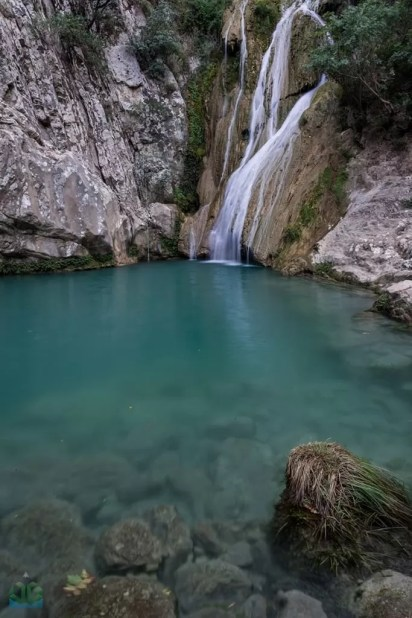 Polilmnio Waterfall - Greece Photographyy