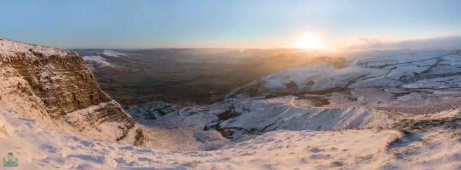 Mam Tor Panoramic - Peak District Photography