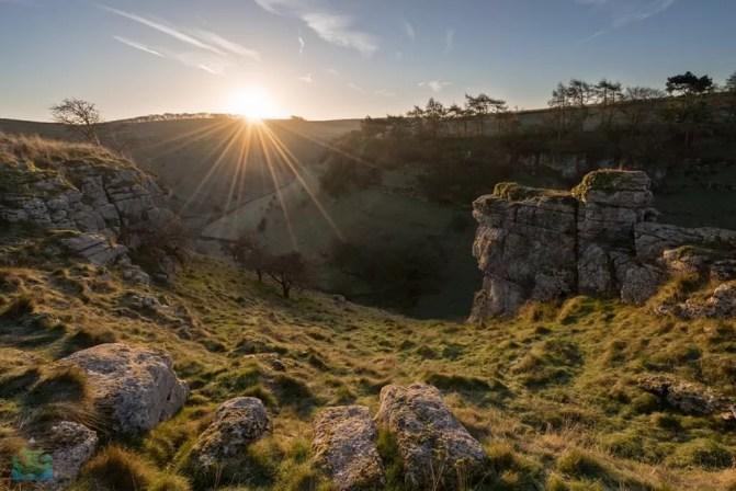 Parsons Tor Sunrise - Peak District Photography copy
