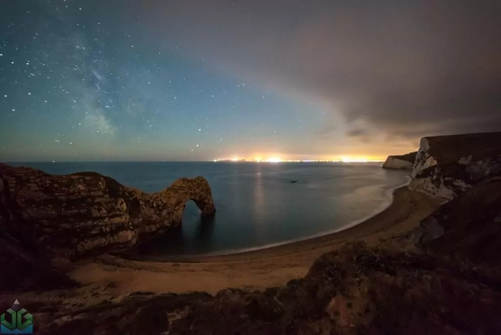 Durdle Door Night View - Dorset Photography