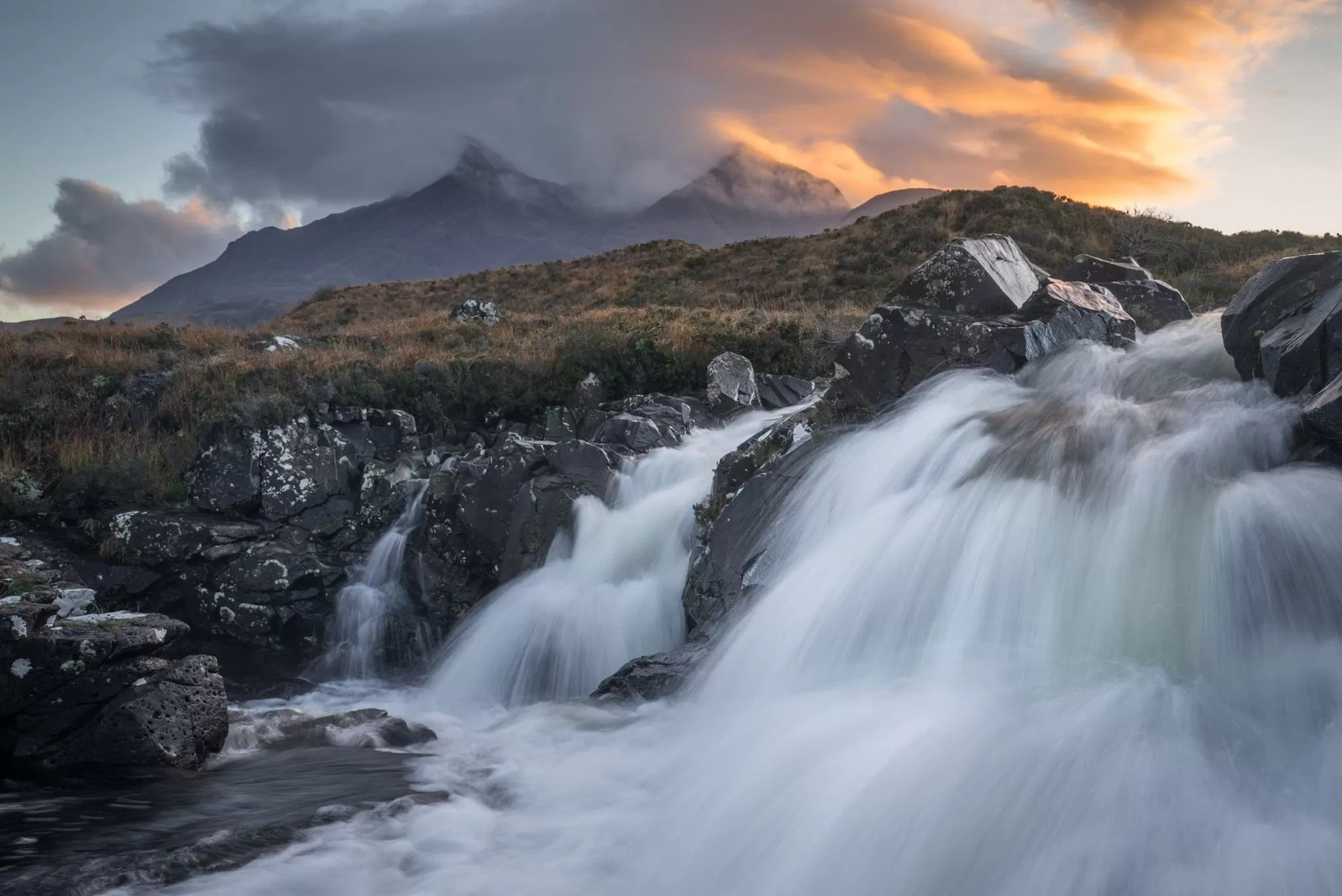 Allt Dearg Mor Sunset - Isle of Skye Photography Workshop