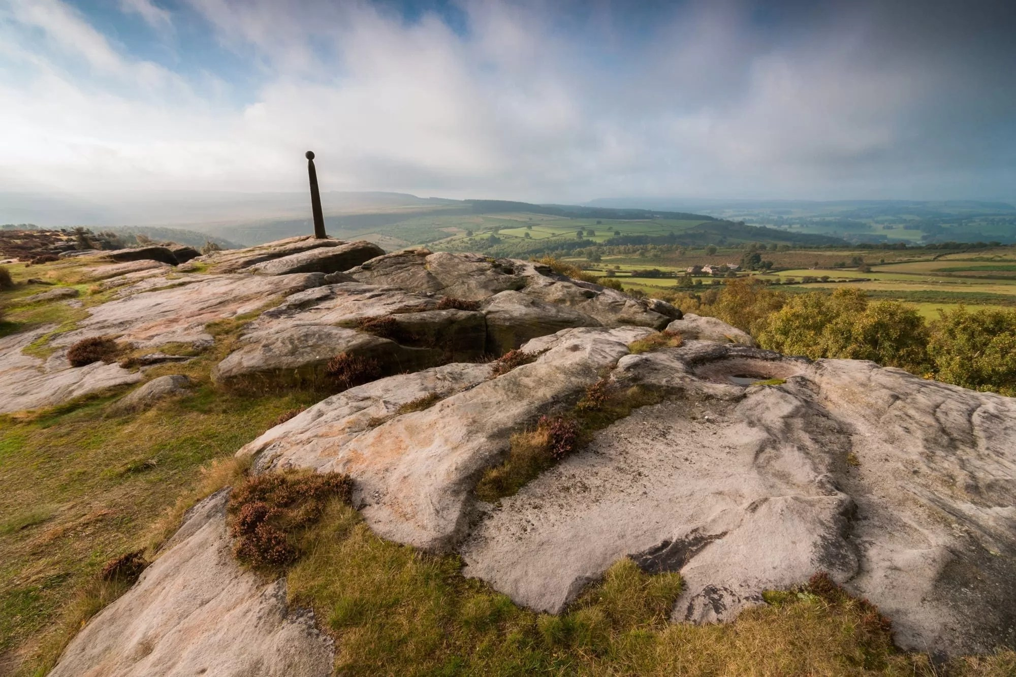 Birchen Edge and Nelsons Monument - Peak District Photography