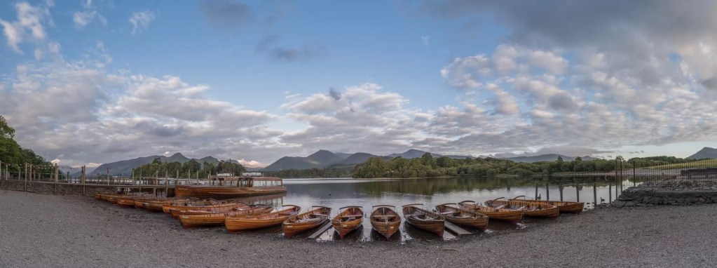 Derwent Water Landing Stages - Lake District Photography