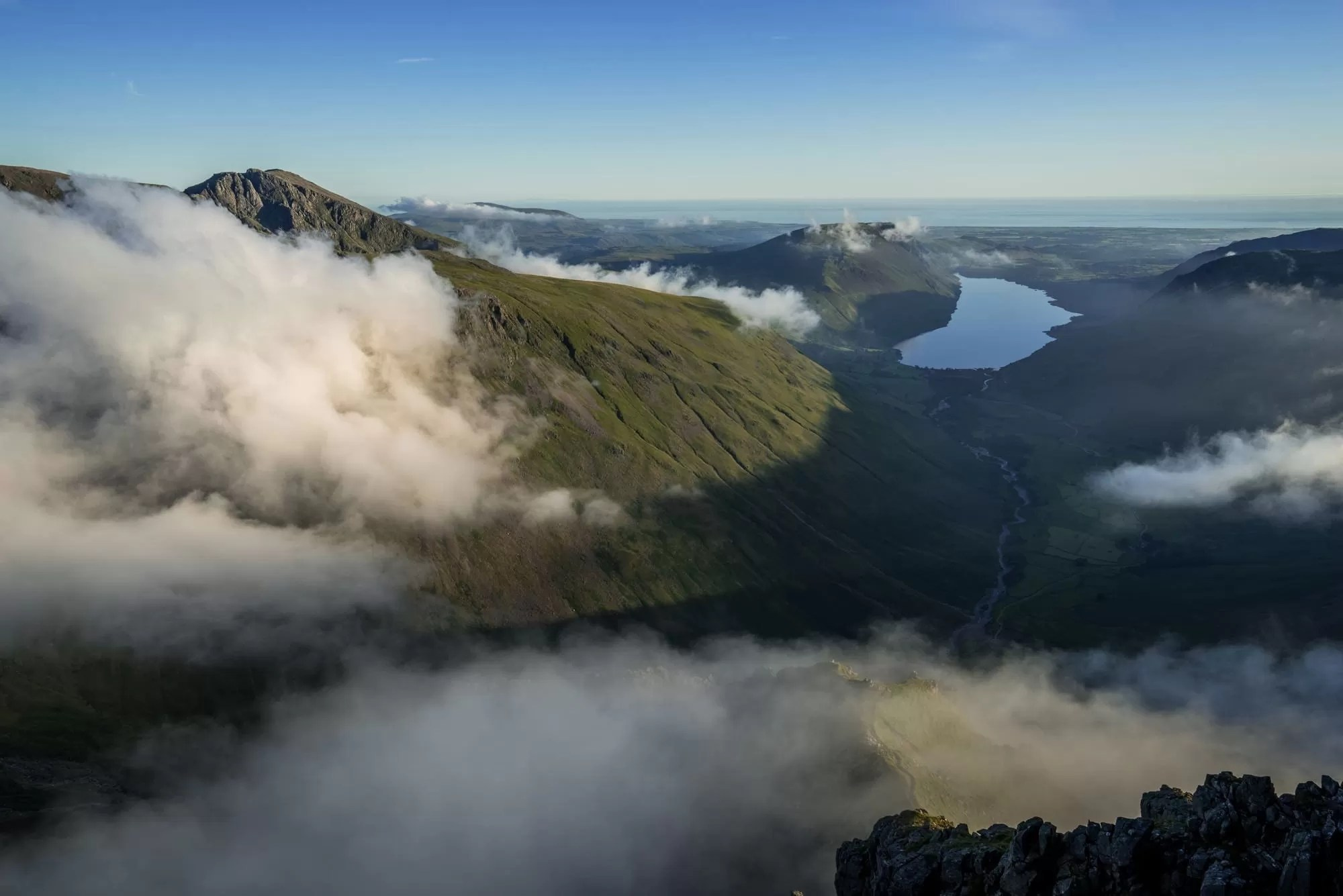 Great Gable to Wasdale Inversion - Lake District Photography Workshops