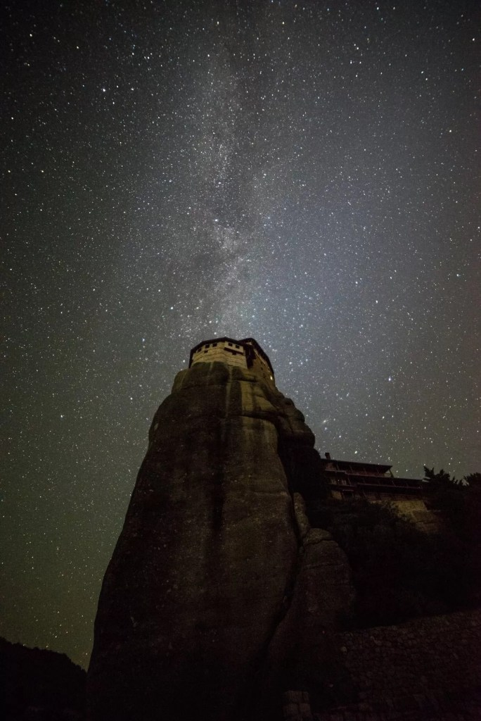 Meteora Astrophotography Milky Way - Meteora Workshop