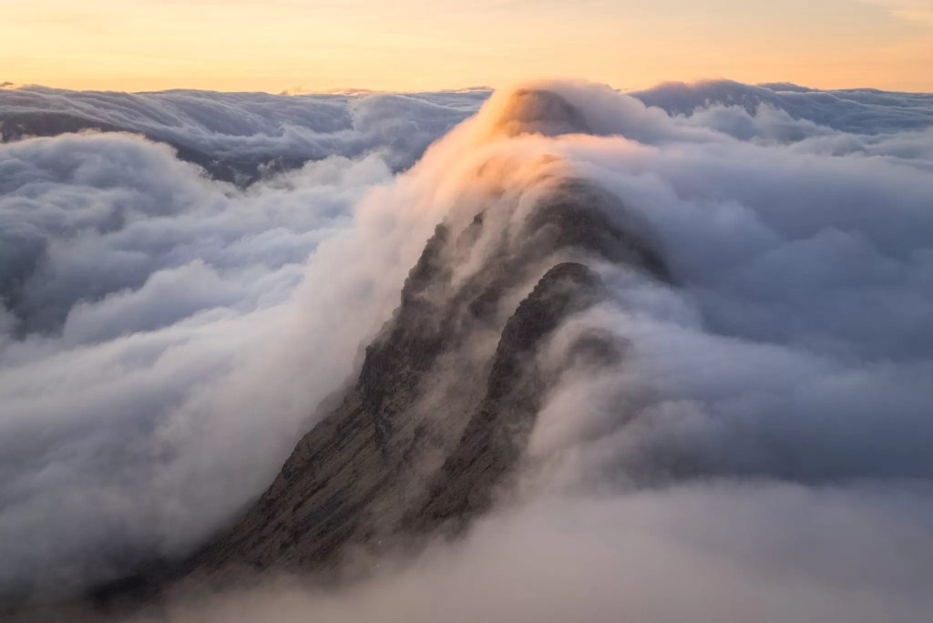 Suilven Sunrise Inversion - Scotland Photography Workshops