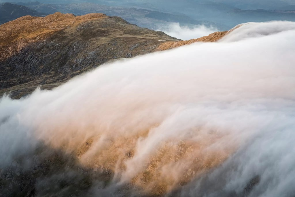 Foel Goch Clouds - Wild Camping Photography Workshops
