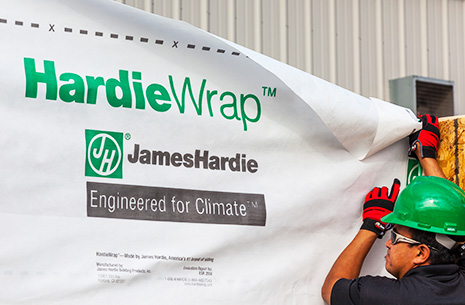 House Wrap | HardieWrap Weather Barrier | James Hardie