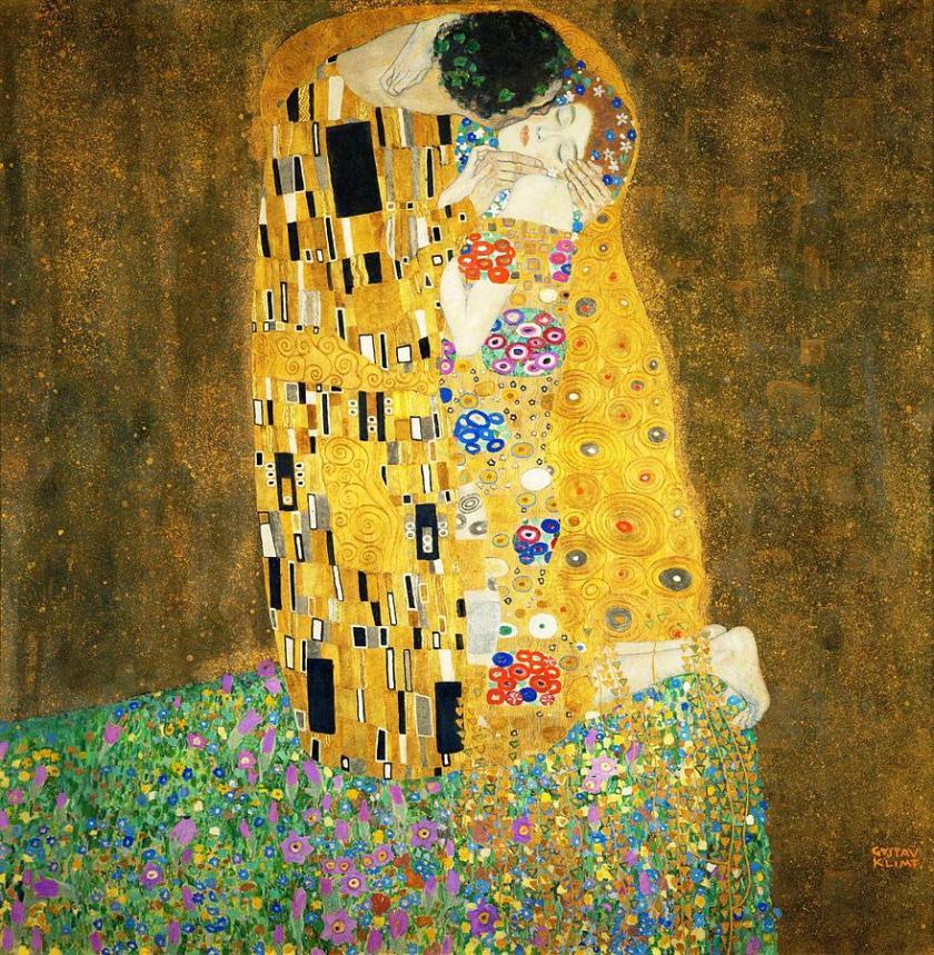 The Kiss (Gustav Klimt, 1907)