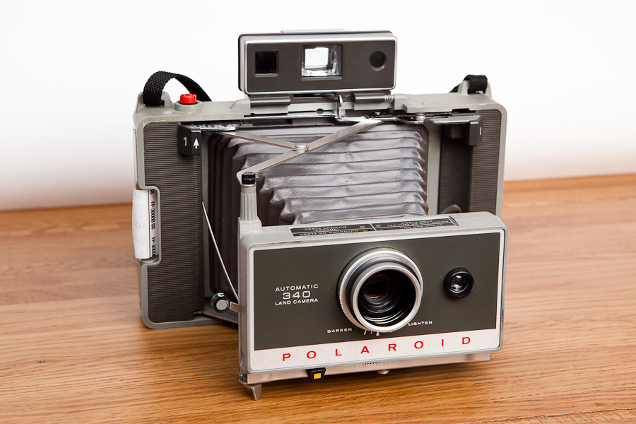 The Fuji / Kodak / Polaroid Land Camera 340
