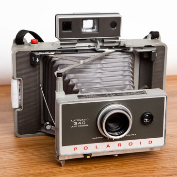 The Fuji / Kodak / Polaroid Land Camera 340