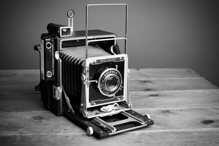 My New Large Format World - The Graflex Speed Graphic 5x4
