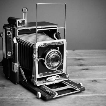 My New Large Format World – The Graflex Speed Graphic 5×4