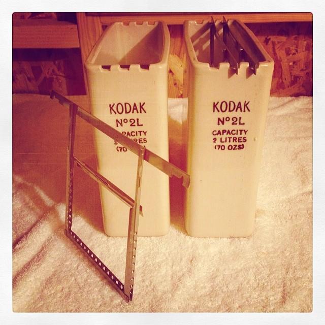 Kodak 5x4 Dip & Dunk Tanks and Hangers