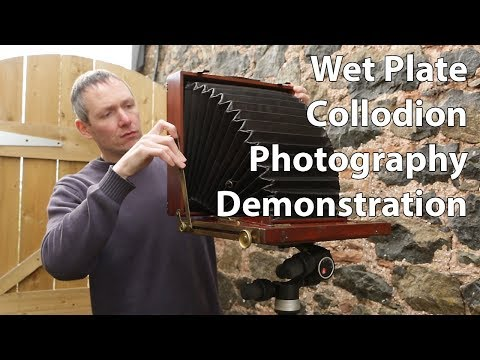 Video: Wet Plate Collodion Demonstration
