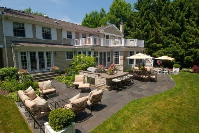 backyard decks and patios in the