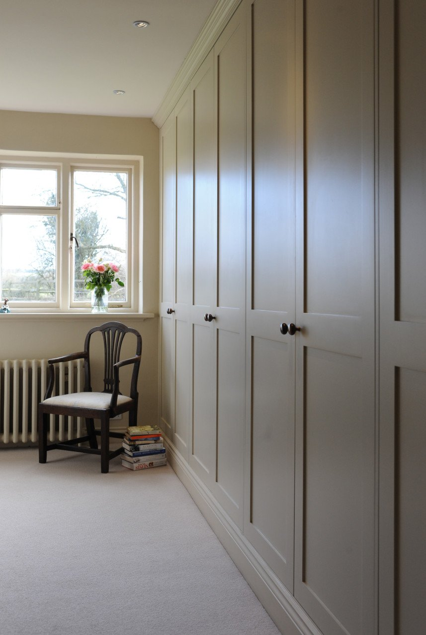 Bespoke Fitted Wardrobes Made To Measure James Mayor