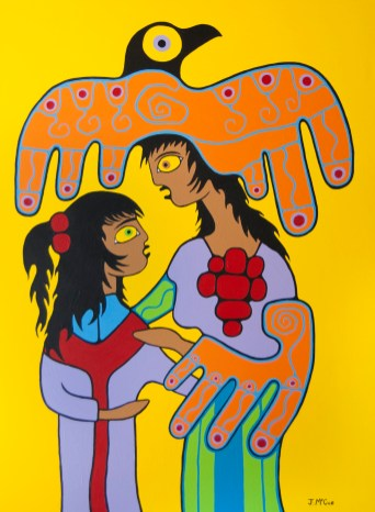 Mother and Daughter 48x36