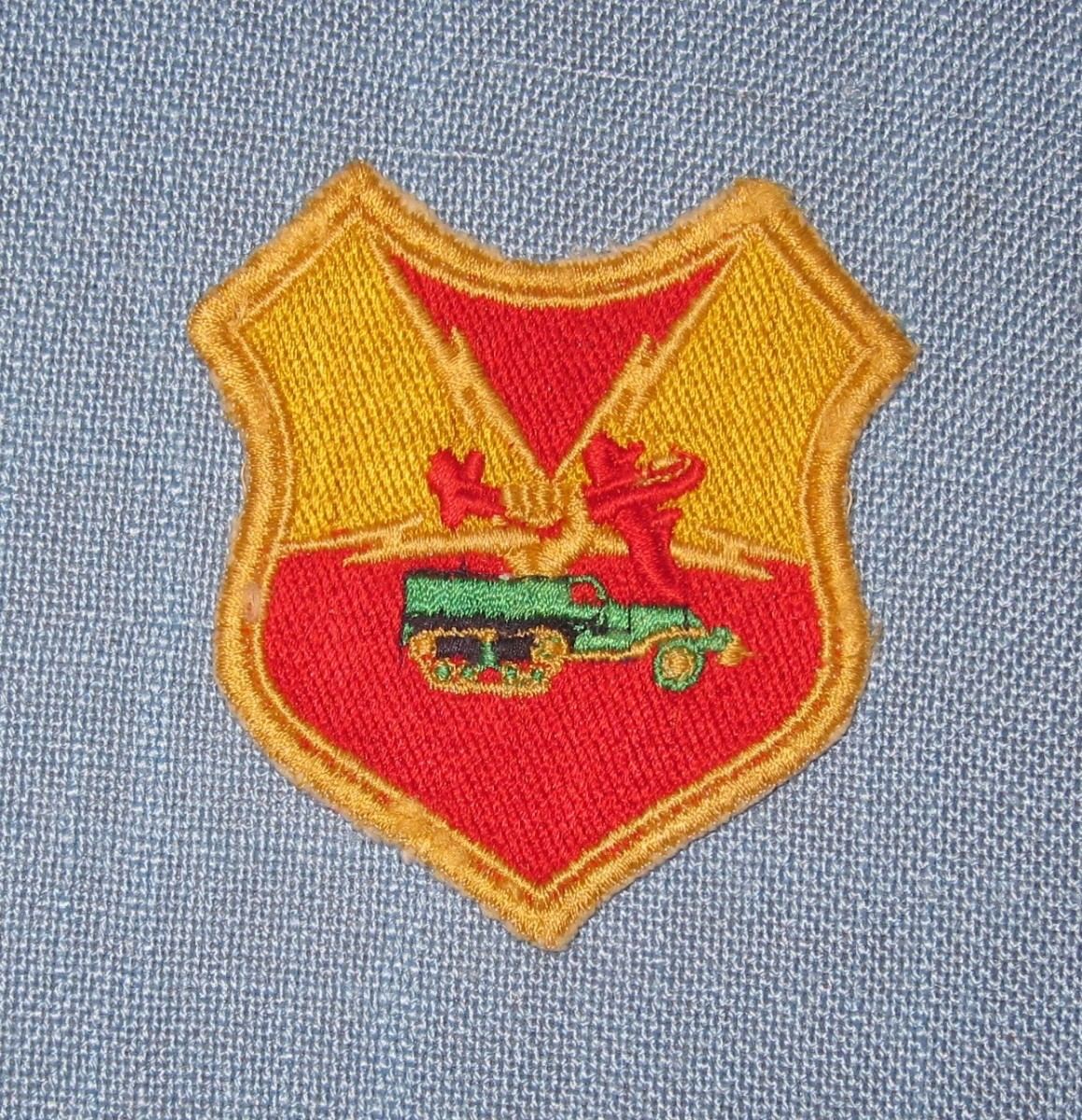 3rd Armored Division Patch Wwii